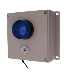 Wireless SB Panic Alarm Siren Control Panel with Adjustable Siren & Blue Flashing LED
