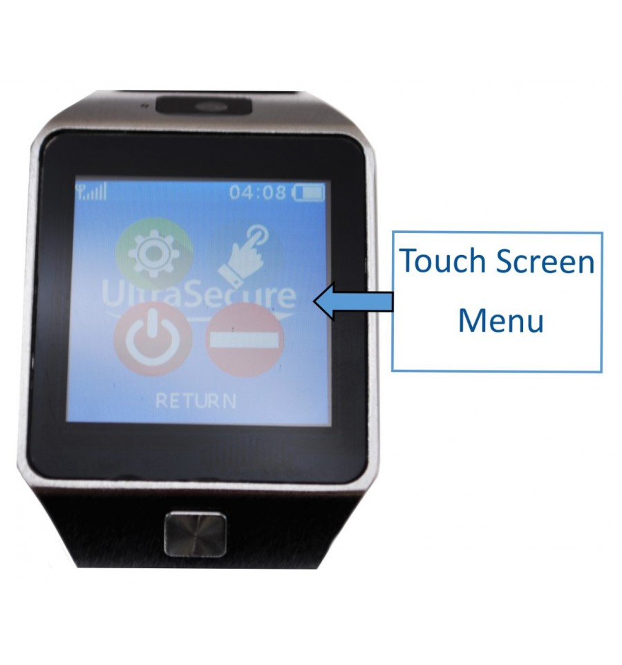 Sos Alert Watch System 7 With Signal Repeater