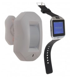 PIR Alert Watch System 9