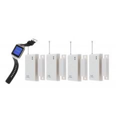 4 x Door Alert Watch System