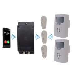UltraDIAL Battery Covert 3G GSM Silent PIR Alarm with 2 x PIR's