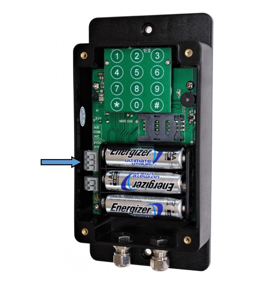 Ultradial Remote Location Battery 3g Gsm Gate Alarm