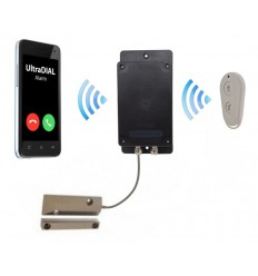Remote Location UltraDIAL Battery 3G GSM Gate Alarm