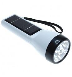 Solar Powered LED Flash Light (white)
