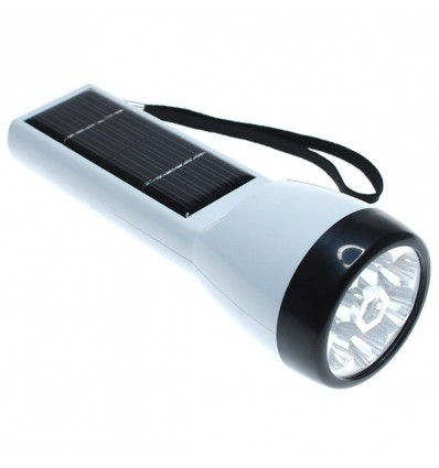 Solar Powered Led Torch White