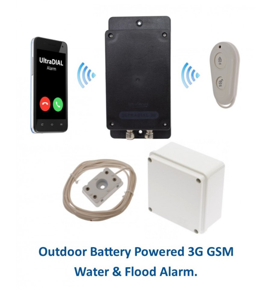 Remote Location Outdoor Battery Ultradial 3g Gsm Water