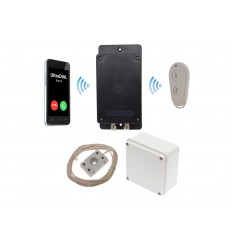 Remote Location Outdoor UltraDIAL Battery 3G GSM Water & Flood Alarm