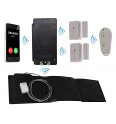 Covert Battery Silent 3G GSM UltraDIAL Door & Pressure Mat Alarm