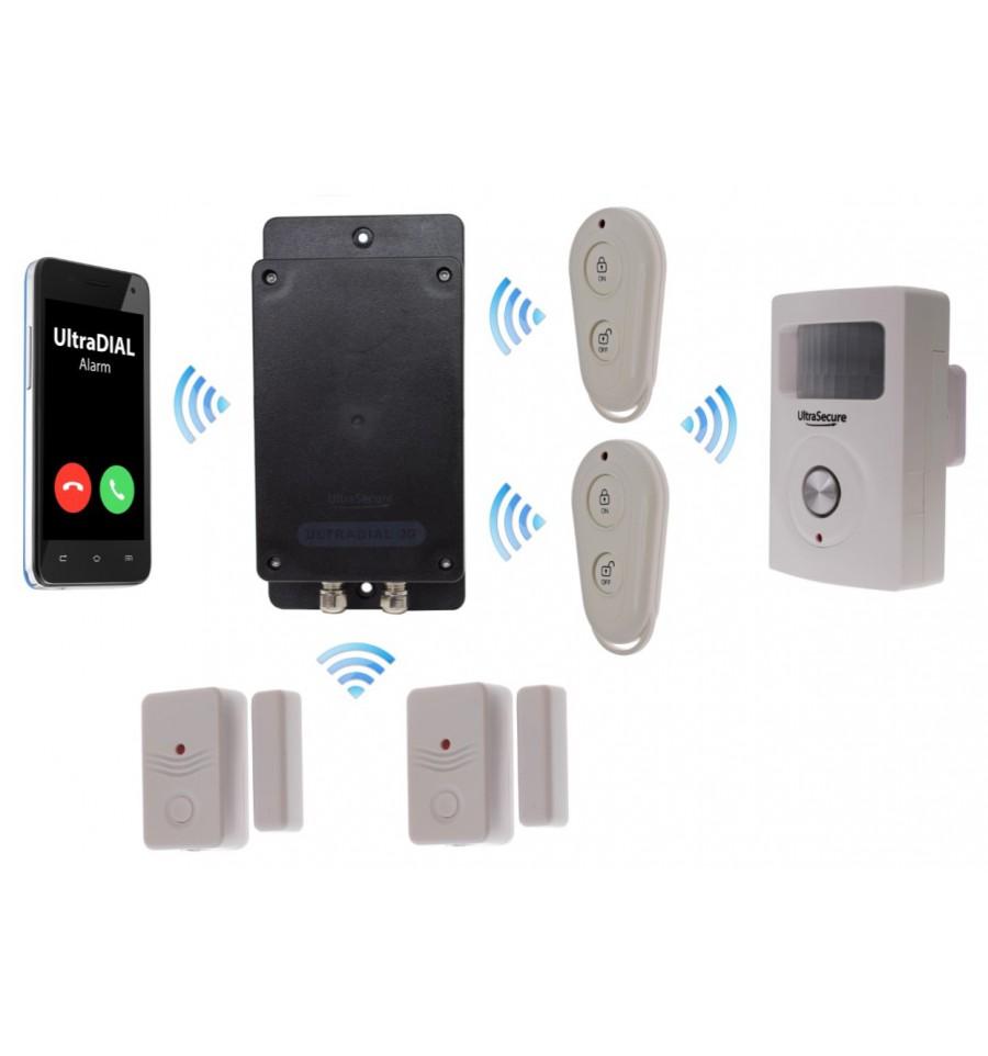 Covert Battery 3g Gsm Door Amp Pir Ultradial Alarm