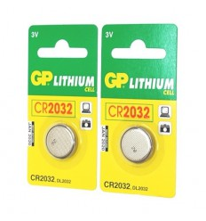 2 x 3v Coin Lithium Batteries