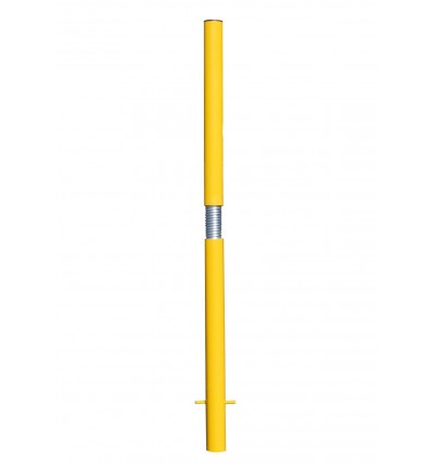 Spigot Based Tall Static Yellow Parking Post (001-3480)