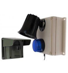 Protect 800 Driveway Alert with Outdoor Loud Siren & Flashing LED Receiver