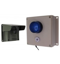 Protect 800 Driveway Alert with Outdoor Adjustable Siren & Flashing LED Receiver