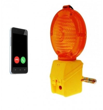 Battery Powered Covert GSM Scaffold Lamp Alarm