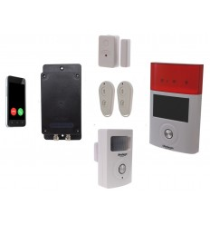 UltraDIAL Battery Covert GSM Alarm with 1 x PIR, 1 x Contact & Outdoor Wireless Siren