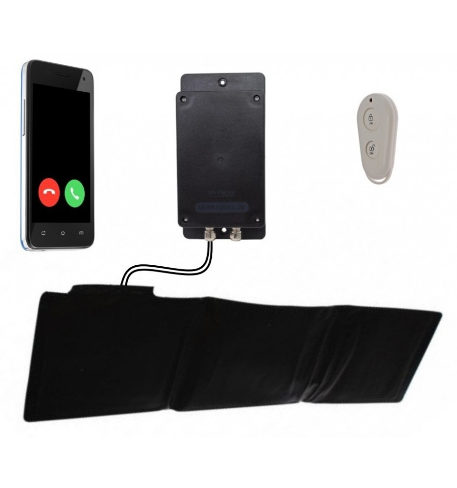 Ultradial Remote Location Battery 3g Gsm Pressure Mat Alarm