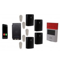 'The UltraDIAL' Battery Covert GSM Alarm with 4 x Outdoor PIR's & Solar Siren