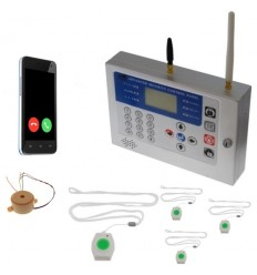 Wireless GSM Panic Alarm with Lanyard Panic Buttons