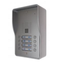 8 x Apartment 3G GSM Audio Intercom