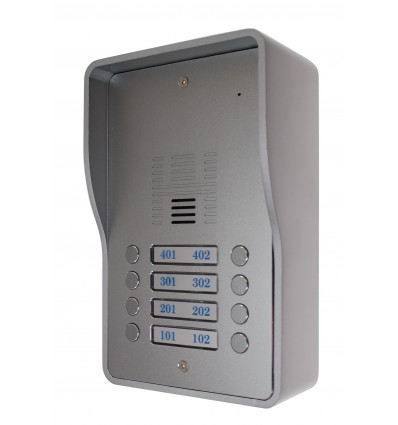 8 x Apartment 3G GSM Audio Intercom