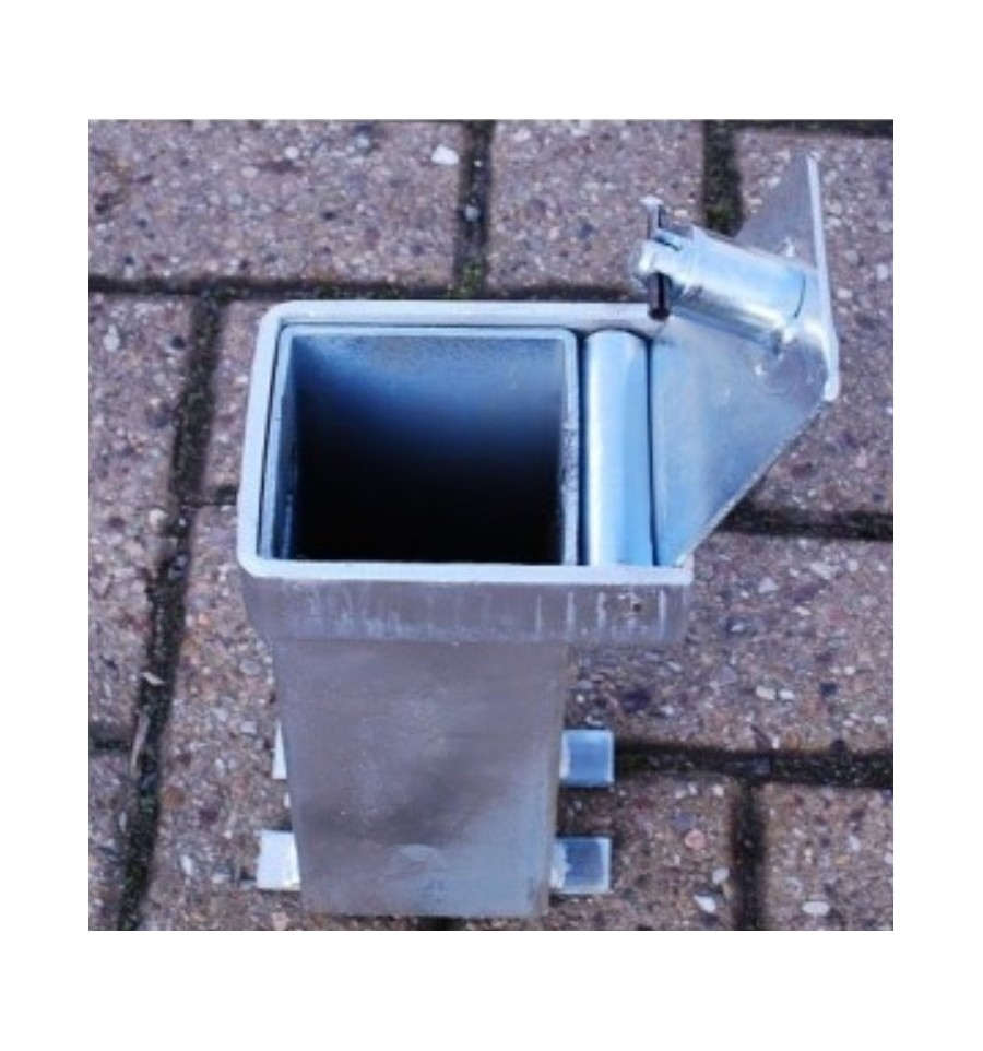Heavy Duty Security Post Amp Chain Eyelets Integral Lock