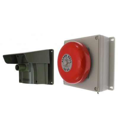Protect-800 Long Range Wireless Driveway Alert with Outdoor Bell Receiver