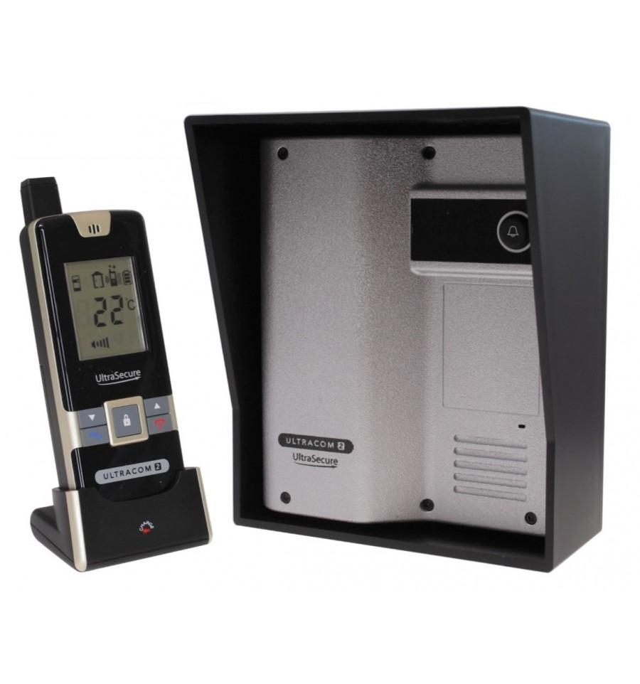 Wireless Gate Amp Door Intercom Ultracom2 Silver 600 Metre