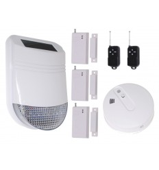 HY Solar Wireless Siren Alarm Kit 2