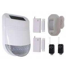 HY Solar Wireless Siren House Alarm Kit 3