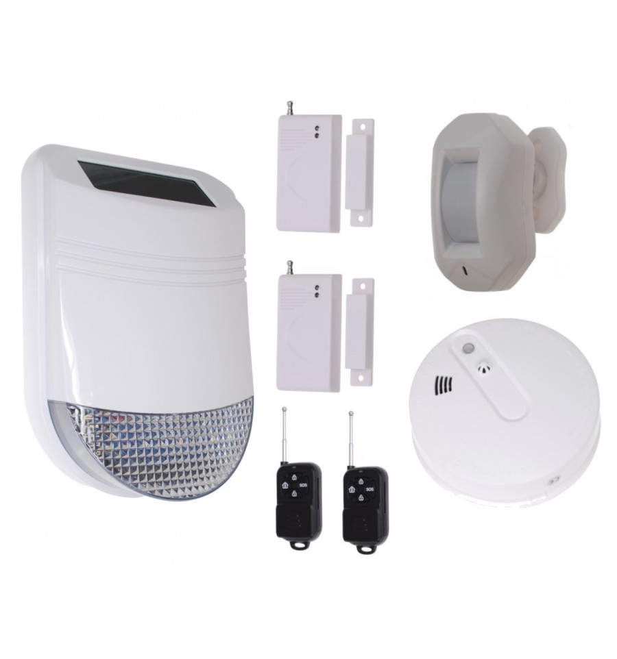 Hy Solar Wireless Solar Siren House Alarm 4