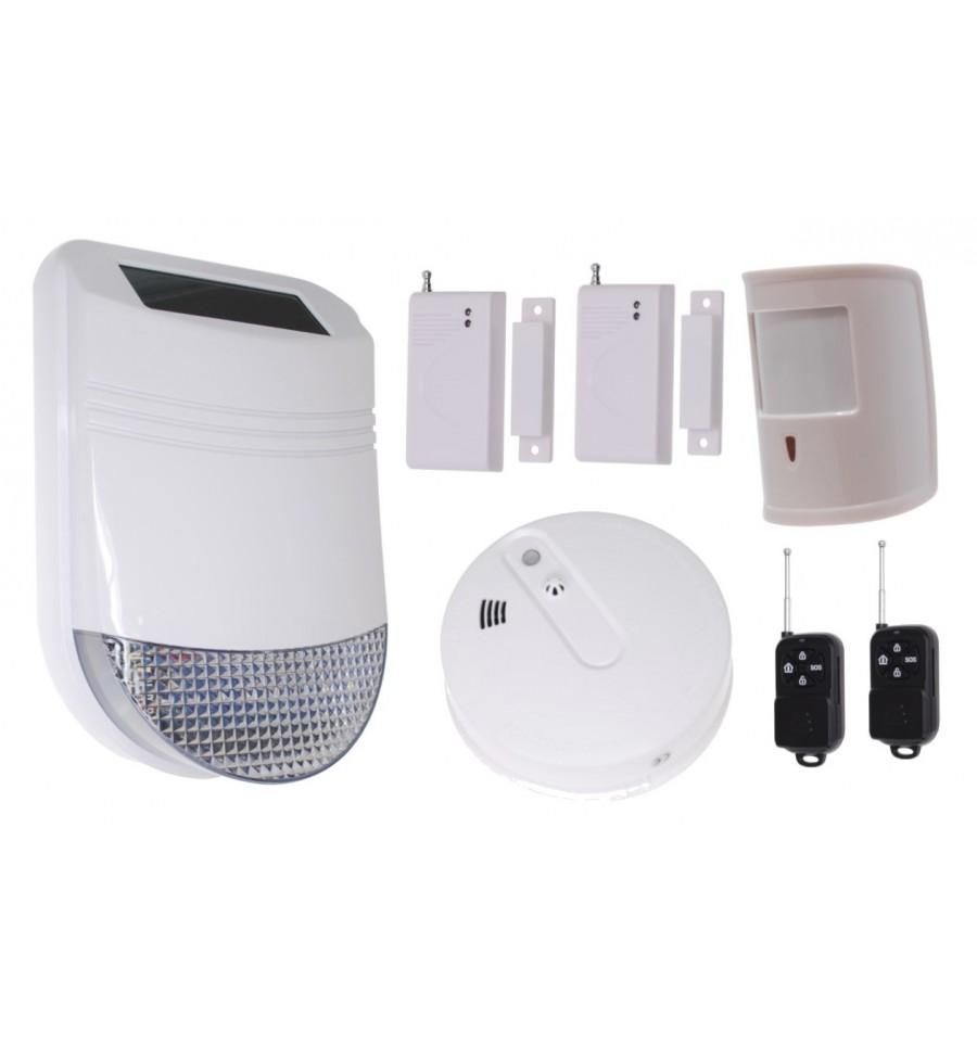 Hy Solar Wireless Solar Siren House Alarm 6