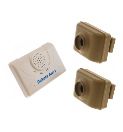 Dakota DCMA Wireless Twin PIR Driveway Alarm Kit