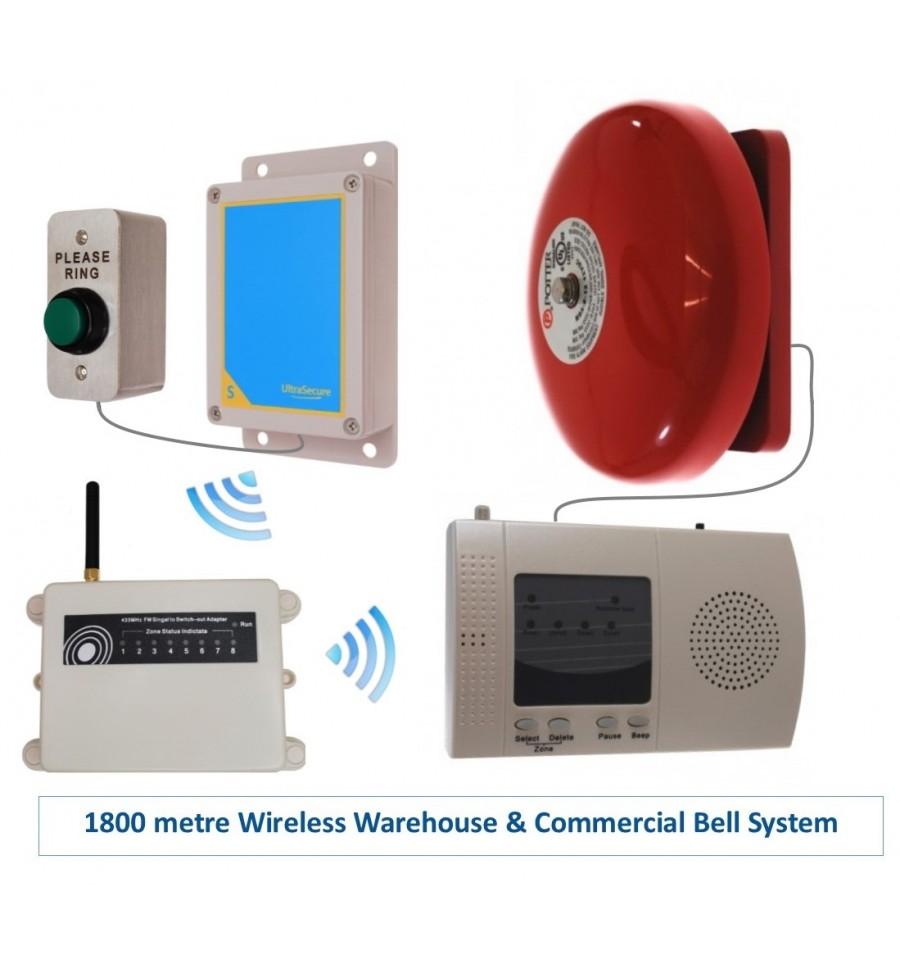 Extra Long Range 1800 Metre Wireless Warehouse S Entry