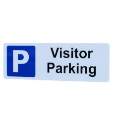 External Visitor Parking Wall Sign