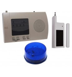 Long Range Wireless S Range Door Alerts with Strobe