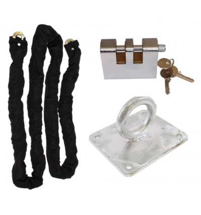 2 metre Long Steel Chain Kit