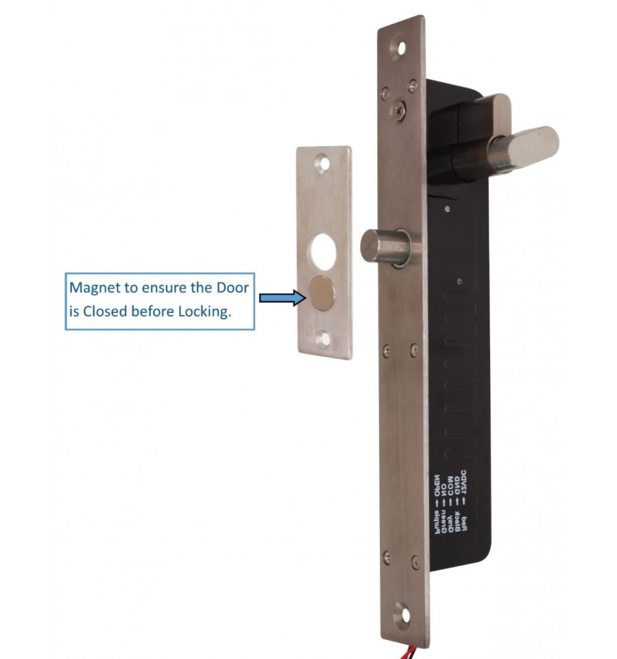 Electronic Door Lock with Manual Release Options