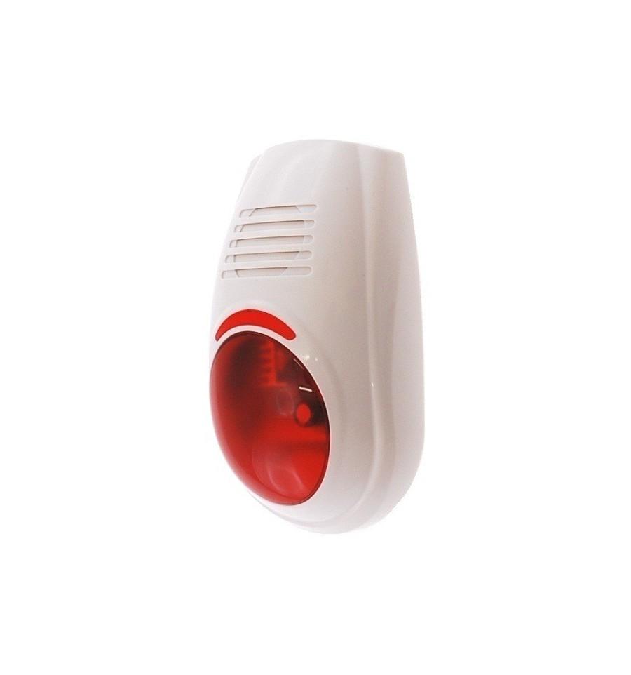 Wireless Alarm Siren Amp Strobe Wg Touch Siren