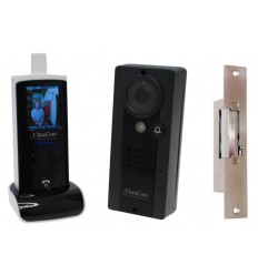 UltraCom Wireless Video Intercom with Fail Safe Electronic Door Latch
