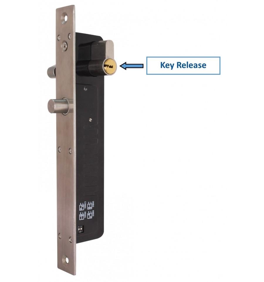 UltraCOM2 Wireless Silver Door Intercom with Electric Door Lock