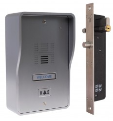 3G GSM Audio Intercom with Electronic Door Lock