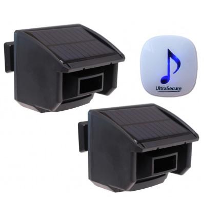 DA600 Wireless Garden & Driveway Alarm & 2 x PIR's
