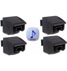 DA600 Wireless Garden & Driveway Alarm & 4 x PIR's