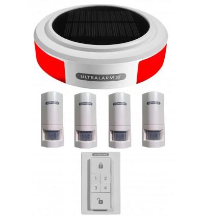 3G GSM Wireless Ultralarm Burglar Alarm PIR Kit