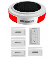 Solar 3G GSM Ultralarm 4 x Contact Alarm Kit