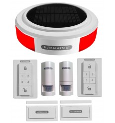 Solar Powered 3G Ultralarm Double Kit