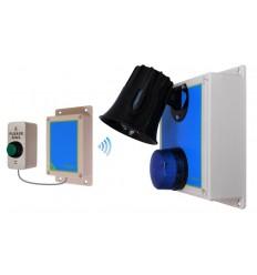 Long Range (800 metre) Wireless 118 Decibel Siren System