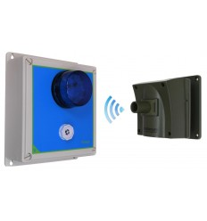 Protect-800 Driveway Alarm with Adjustable Outdoor Siren Receiver.