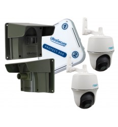 2 x PIR Protect-800 Wireless Driveway Alert with 2 x Wifi PT Cameras