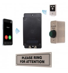 Unique Battery powered 3G GSM UltraDIAL Call Alert